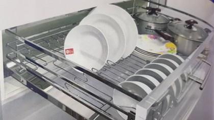 Giá xoong nồi, bát đĩa đa năng inox cao cấp EP60