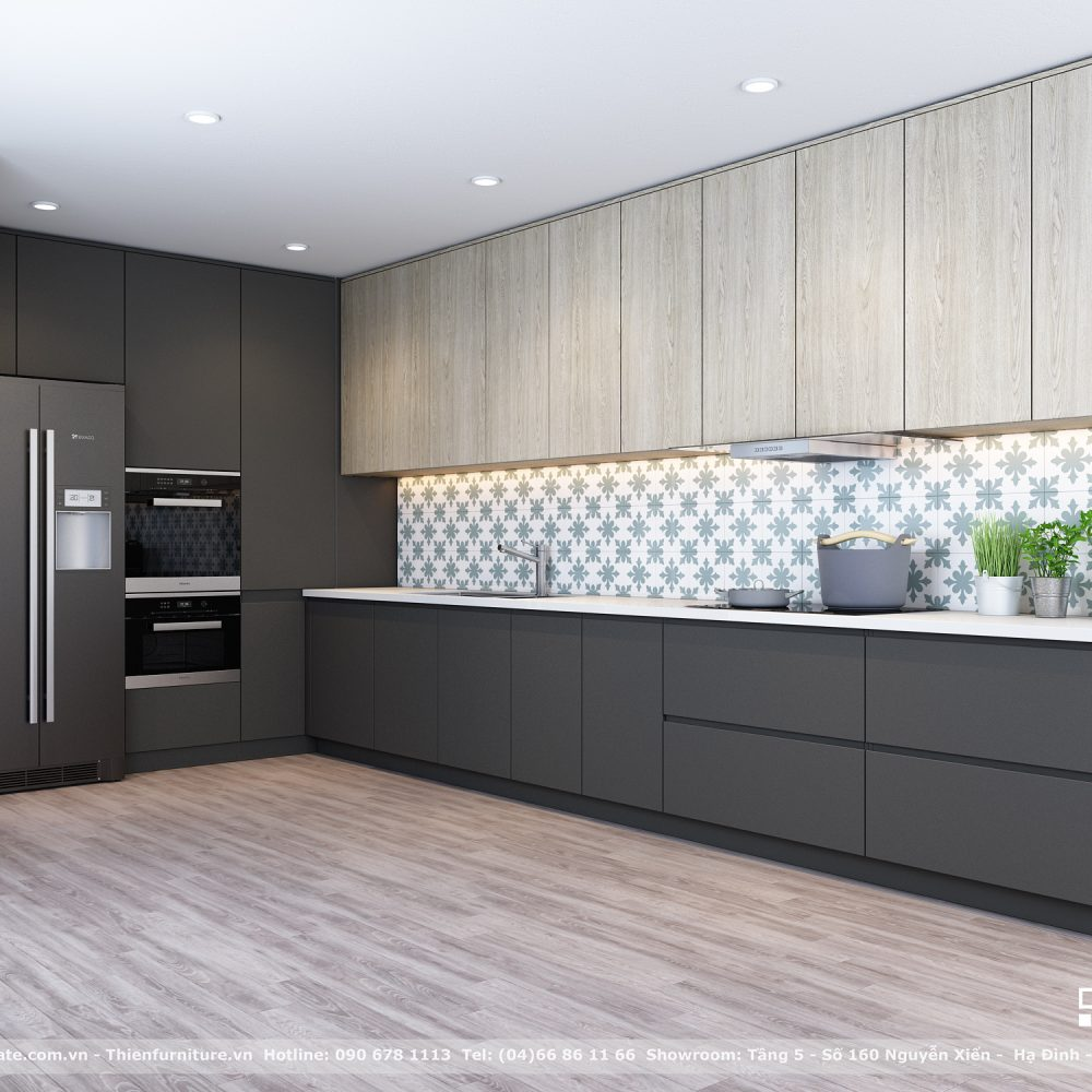 Tủ bếp laminate-LAM01
