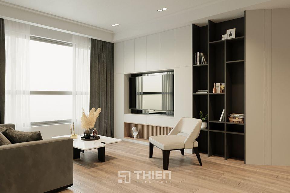 nội thất căn hộ chị Hương
